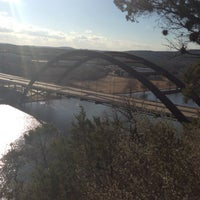 Photo taken at 360 Bridge (Pennybacker Bridge) by Smith S. on 1/21/2013