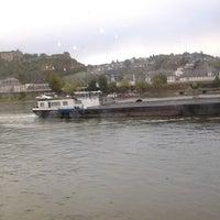 Photo taken at SRS. Goethe, Anleger Koblenz by Thomas F. on 10/12/2013