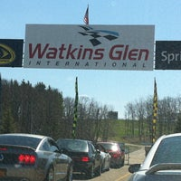 Photo taken at Watkins Glen International by Jenna K. on 4/21/2013