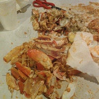 Photo taken at The Bucket Crabs & Crawfish by Fred M. on 5/20/2013