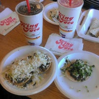 Photo taken at King Taco Restaurant by Fred M. on 9/15/2012