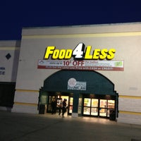 Photo taken at Food 4 Less by Bernard H. on 2/24/2013