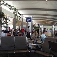 Photo taken at Gate B14 by Bernard H. on 5/3/2013