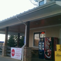 Photo taken at Ashley's Market/Liberty Gas Station by Tom T. on 3/30/2013