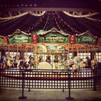 Photo taken at Bear Mountain Carousel by Tetsuya A. on 4/26/2014