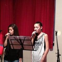 Photo taken at Scuola Civica Di Musica e Danza by DjL on 6/10/2013