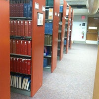 Photo taken at Magrath Library by Kirsten S. on 10/22/2012