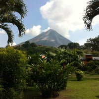 Photo taken at Volcán Arenal by Cristina K. on 3/25/2013
