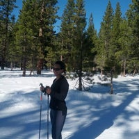 Photo taken at Tahoe Cross Country Ski Area by David B. on 1/20/2013