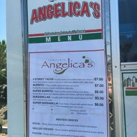 Photo taken at Angelica's Taqueria Taco Truck by Brad K. on 9/10/2016