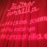 Photo taken at Teatro Zorrilla by Rubén A. on 12/16/2012