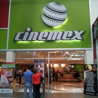 Photo taken at Cinemex by Angela F. on 10/27/2012