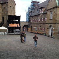 Photo taken at Schloss Broich by Arnd on 8/9/2013