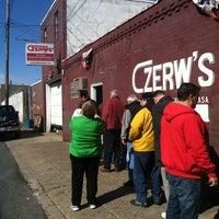 Photo taken at Czerw's Kielbasa by Nick B. on 3/27/2013