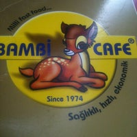 Photo taken at Bambi Cafe by Zafer G. on 4/9/2013