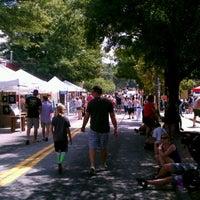 Photo taken at East Atlanta Village by Kody W. on 9/15/2012