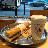 Photo taken at Pret A Manger by Sergey S. on 12/28/2012