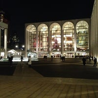 Photo taken at Josie Robertson Plaza (Lincoln Center Plaza) by Sergey S. on 1/4/2013