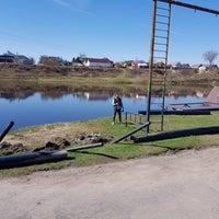 Photo taken at Pskov Wake Park by Pavel G. on 4/23/2018