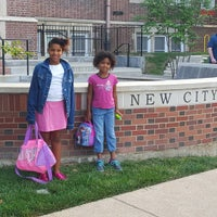 Photo taken at New City School by Nate J. on 8/31/2015