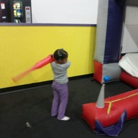Photo taken at Bounce U by Nate J. on 10/20/2012