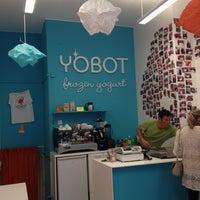 Photo taken at Yobot Frozen Yogurt by Krista K. on 9/22/2012