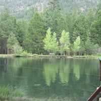 Photo taken at Wizard Falls Fish Hatchery by Andrew H. on 5/28/2013
