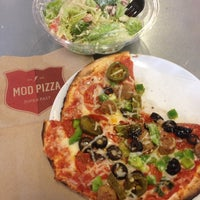 Photo taken at MOD Pizza by Amanda S. on 1/18/2015