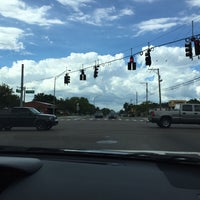Photo taken at Hillsborough Ave & Florida Ave by Curt E. on 7/25/2016