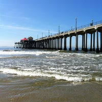 Photo taken at Huntington Beach Pier by Curt E. on 9/28/2012