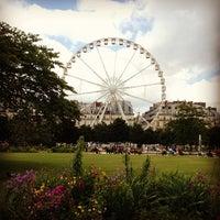 6/27/2013 tarihinde Nikolas M.ziyaretçi tarafından Jardin des Tuileries'de çekilen fotoğraf