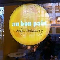 Photo taken at Au Bon Pain by T S. on 11/14/2012