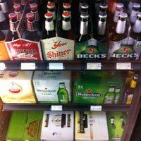Photo taken at Green's Beverages by T S. on 11/11/2012