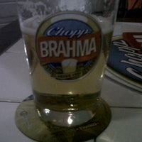 Photo taken at Quiosque Chopp Brahma by Natalia G. on 10/11/2012
