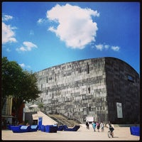 Photo taken at MuseumsQuartier by Alina P. on 7/19/2013