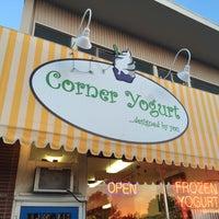 Photo taken at Corner Yogurt by Derek O. on 4/17/2016