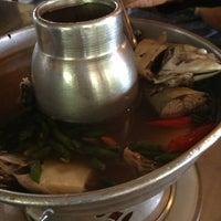 Photo taken at ริมเขื่อน (Rim Khuean Restaurant) by Air S. on 10/27/2012