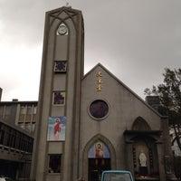 Photo taken at 聖方濟沙勿略天主堂 St. Francis Xavier Parish by Sean L. on 1/12/2014