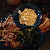 Photo taken at MOJO Bar B Que, A Southern Blues Kitchen by Mandy B. on 7/19/2013