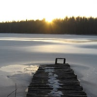 Photo taken at Toksovo by Никита К. on 12/19/2012