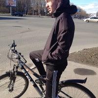 Photo taken at Велотрек by Никита К. on 4/24/2013