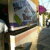 Photo taken at Paletas Y Helados La Única by Jorge Andrés C. on 10/16/2012