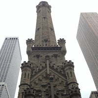 Photo taken at Chicago Water Tower by KONA on 7/2/2013