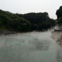 Das Foto wurde bei 地熱谷 Beitou Thermal Valley von Ben L. am 3/26/2013 aufgenommen