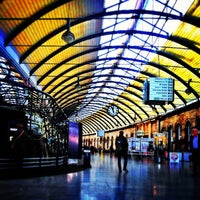 Photo taken at Newcastle Central Railway Station (NCL) by Salar on 12/16/2012