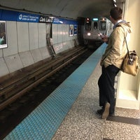 Photo taken at CTA - Clark/Lake by Miguel G. on 6/7/2013