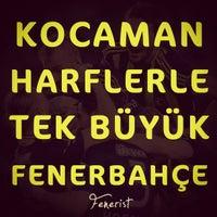 Photo prise au Maraton Tribünü par Fenerist le12/10/2012