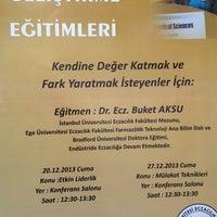 Photo taken at Konferans Salonu - Eczacılık Fakültesi by Elif on 12/20/2013