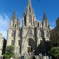 Photo taken at Cathedral of Saint Eulalia of Barcelona by Saray L. on 6/19/2013