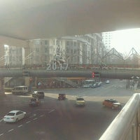 Photo taken at Huaihai Middle Road by くろねk on 1/13/2017